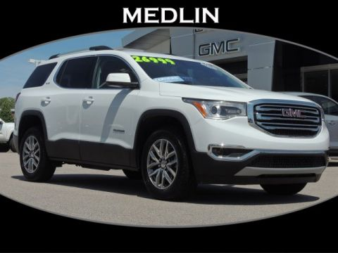 Pre-Owned 2018 GMC Acadia SLE